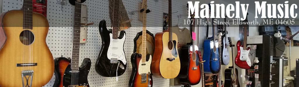 Mainely Music has everything you need to make great music!